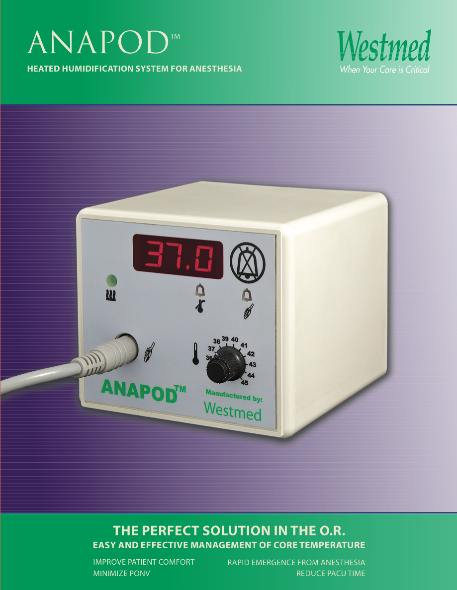 Download the ANAPOD brochure now ...