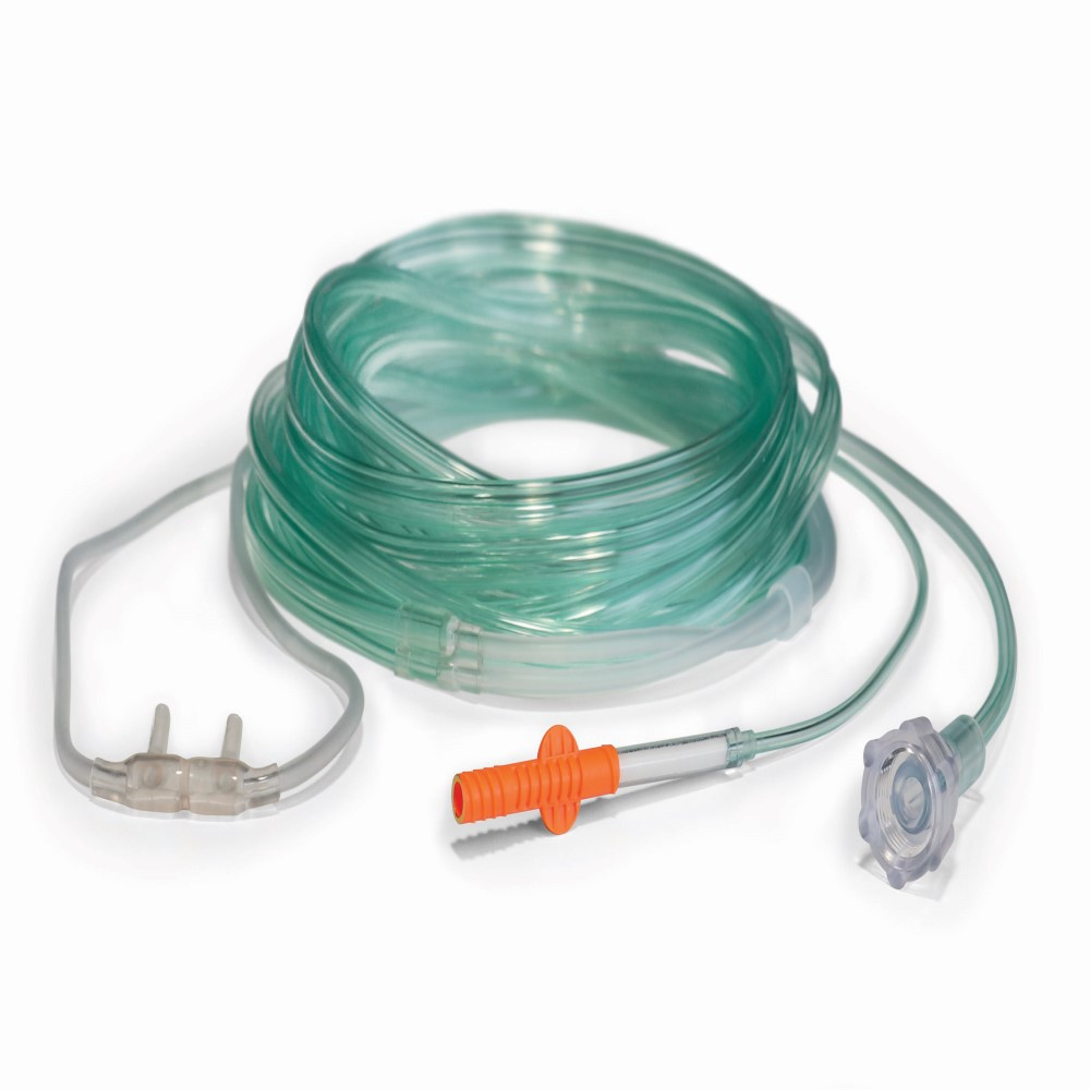 CO2 Reflectance - Photo - Reflectance Cannula with Threaded Nut